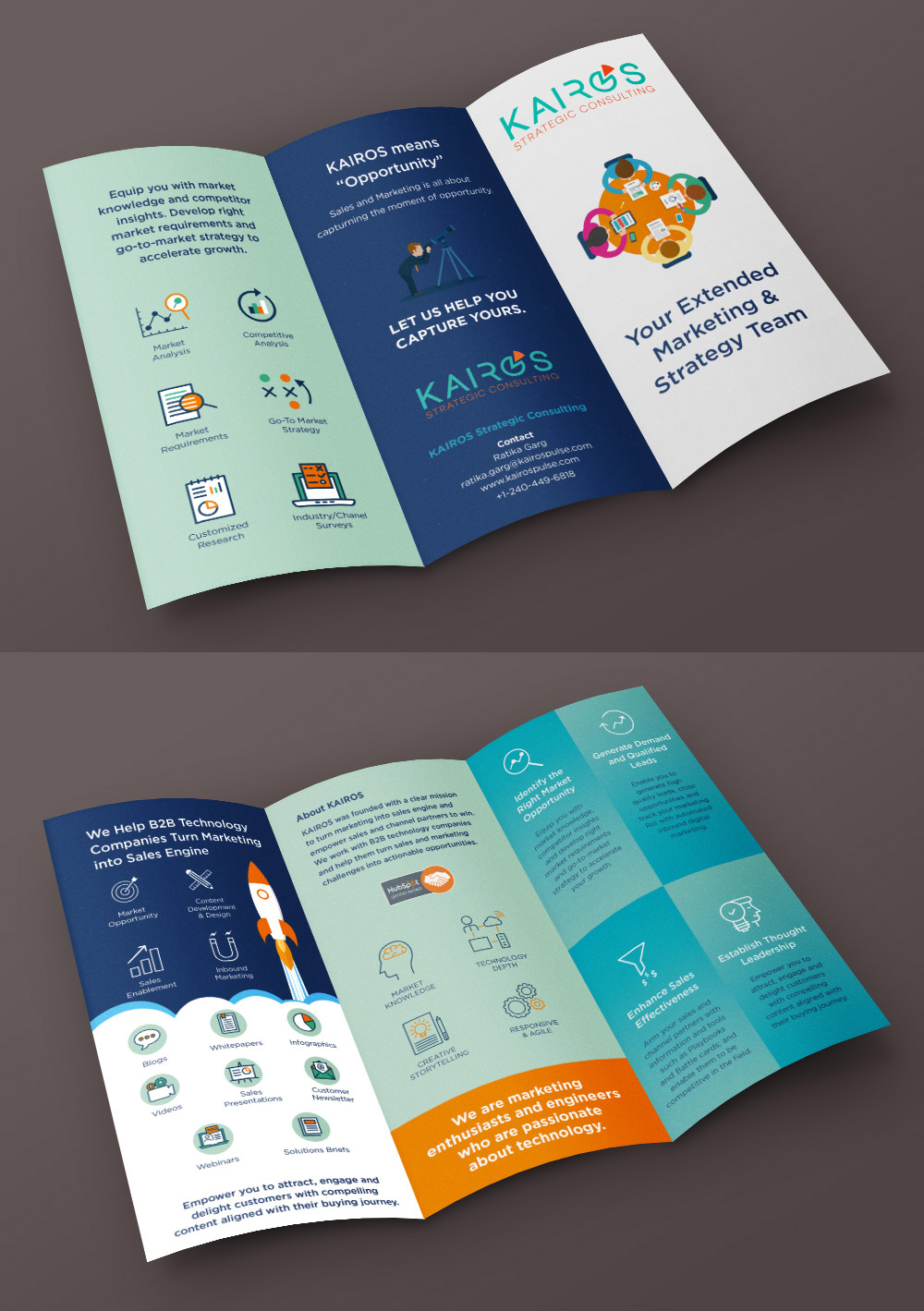 marketing brochure design dasantoshdasantosh